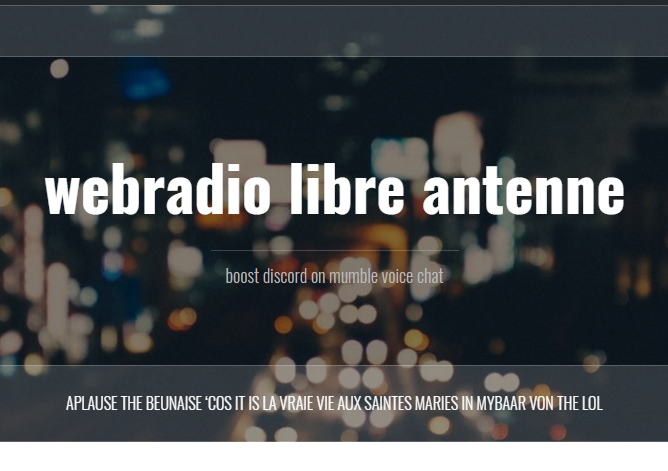 libre beunaise is webradio antenne stri g poil