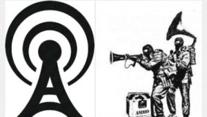 Beunaise comme la pause sur la libre antenne webradio